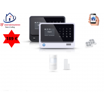 Home-Locking draadloos smart alarmsysteem wifi,gprs,sms AC-05