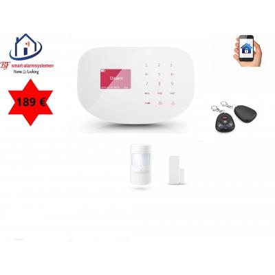 Home-Locking draadloos smart alarmsysteem wifi,gprs,sms AC-08