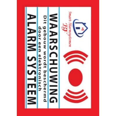 Kleine waarschuwing raamstickers WRS-402