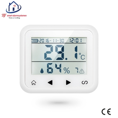 Home-Locking temperatuur,vochtigheids-detector D.T-180