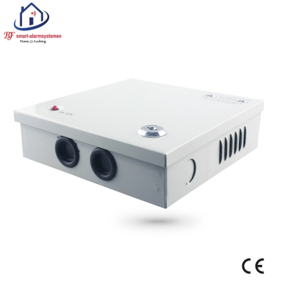 Home-Locking supply box 12VDC 3A 4 x camera  CS-421