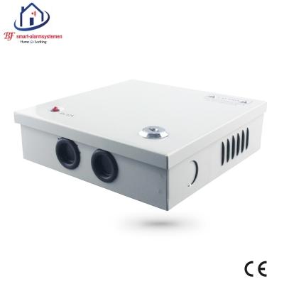 Home-Locking supply box 12VDC 10A 8 x camera  CS-422