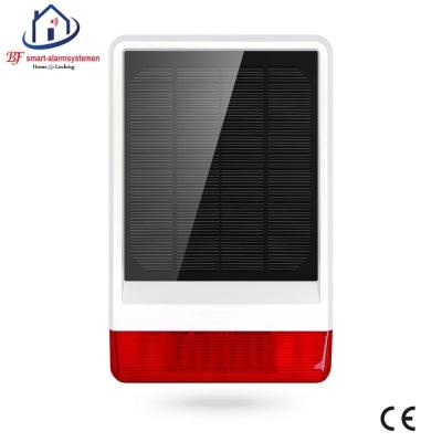 Home-Locking buiten sirene solar SBU-026