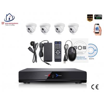 Home-Locking camerasysteem met NVR 3.0MP H.265 POE en 4 dome camera's 3.0MP CS-4-1401