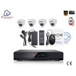 Home-Locking camerasysteem met NVR 2.0MP H.265 POE en 4 dome camera's 2.0MP CS-4-492
