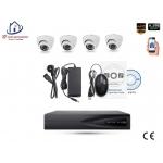 Home-Locking camerasysteem met bewegingsdetectie en NVR 2.0MP H.265 POE en 4 dome camera's 2.0MP CS-4-492D