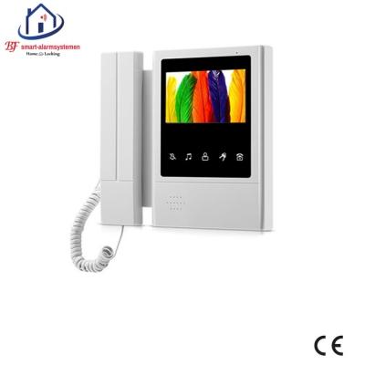 Home-Locking binnen bedieningspaneel voor deur videofoon 4 draads.DT-1121B
