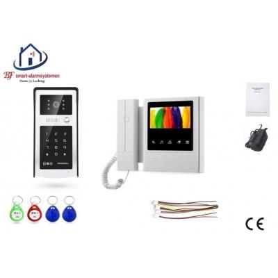 Home-Locking complete deur video videofoon 4 draads.DBF-DT-2205