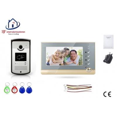 Home-Locking complete deur videofoon 4 draads met ID-kaart.DT-1116/2227
