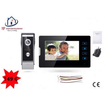 Home-Locking complete deur videofoon 4 draads.DT-2210