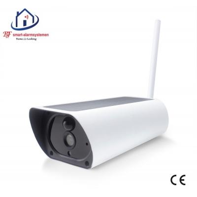 Smart WiFI IP-camera 2.0MP met zon energie werkt met Amazon Alexa / Google Assistance.T-2047