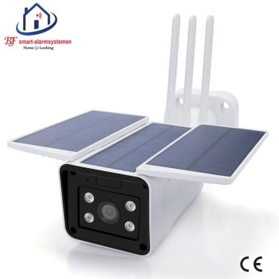 Smart WiFI IP-camera 2.0MP met zon energie werkt met Amazon Alexa / Google Assistance.T-2048