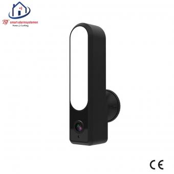 Home-Locking led muur lamp met WIFI Ip-camera 2.0MP werkt met Amazon Alexa / Google Assistance T-2002.