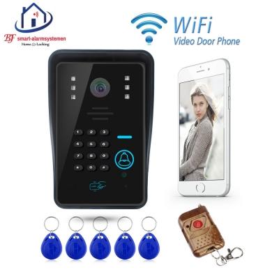 Home-Locking APP WIFI video deurtelefoon draadloos met toegangscontrole met ontgrendeling.DT-1103