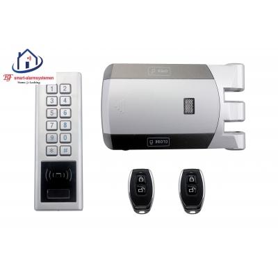Home-Locking draadloos complete deurslot voor een metalen of houten deur.DT-1106