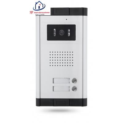 Home-Locking buiten bedieningspaneel voor appartementen drukknoppen boven elkaar inbouw voor deur videofoon 4 draads.DT-1111