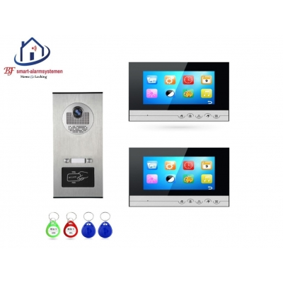 Home-Locking complete deur video videofoon 4 draads met ID-kaart.DT-1452