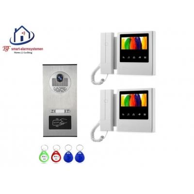 Home-Locking complete deur video videofoon 4 draads met ID-kaart.DT-1453