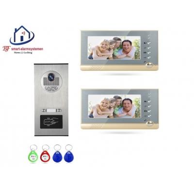 Home-Locking complete deur video videofoon 4 draads met ID-kaart.DT-1454
