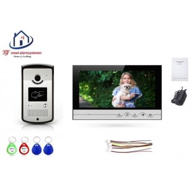 Home-Locking complete deur videofoon 4 draads met ID-kaart.DT-2201