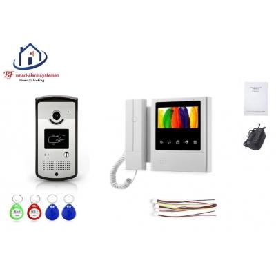 Home-Locking complete deur videofoon 4 draads met ID-kaart.DT-2202