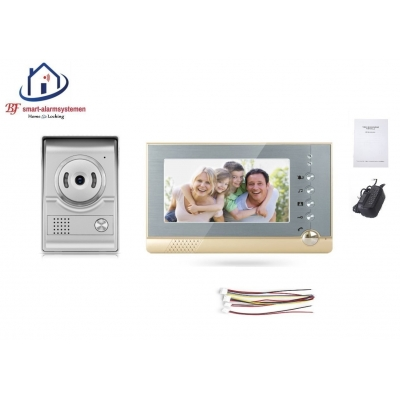 Home-Locking complete deur videofoon 4 draads.DT-2208