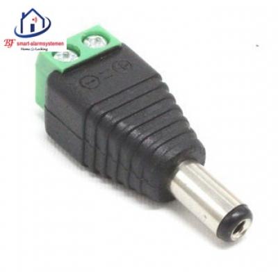 Home-Locking 12VDC mannelijk stekker CC-443