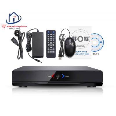 Home-Locking NVR 4CH 1080P-H265 2.0MP 4 uitgangen POE CN-520