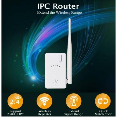 - Home-Locking signaal versterker voor draadloze wifi IP-camerasysteem.DBF-V-702