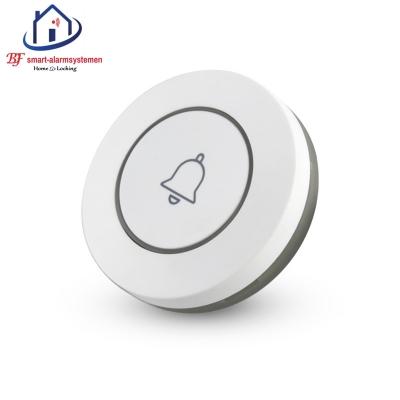 Smart WiFi deur bel knop werk met Amazon Alexa / Google Assistance.T-2001