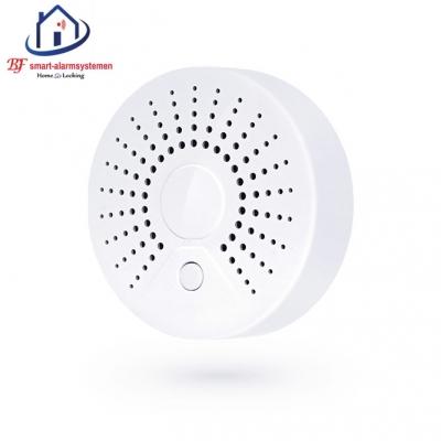 Smart WiFI rook-detector werkt met Amazon Alexa / Google Assistance.T-2009