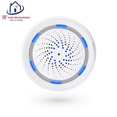 Smart WiFI sirene werkt met Amazon Alexa / Google Assistance.T-2011