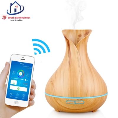 Smart WiFi aroma verstuiver werkt met Amazon Alexa / Google Assistance.T-2086