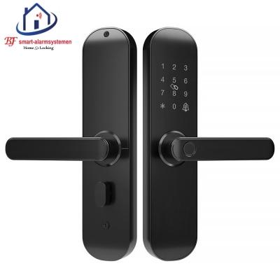 Smart WiFi deurklink werkt met Amazon Alexa / Google Assistance.T-2035