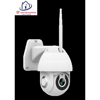 Smart WiFi PTZ mini IP-camera 1080P  werkt met Amazon Alexa / Google Assistance.T-2045