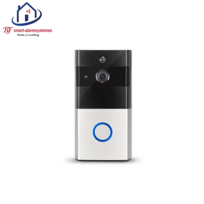Smart WiFi HD video deurbel werkt met Amazon Alexa / Google Assistance.T-2049