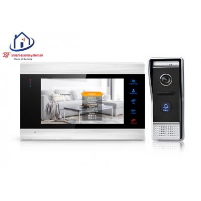 Smart WIFI deur intercom werkt met Amazon Alexa / Google Assistance.T-2101