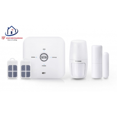 Smart WiFI alarmsysteem werkt met Amazon Alexa / Google AssistanceT-2068