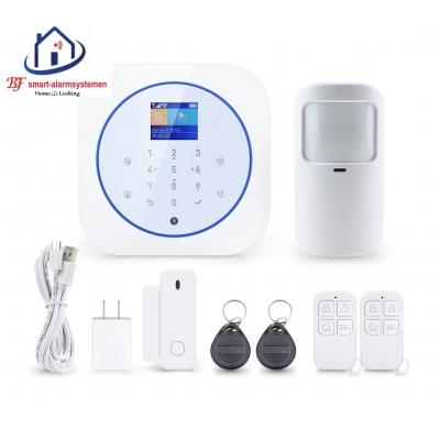 Smart WiFI alarmsysteem werkt met Amazon Alexa / Google Assistance.T-2069