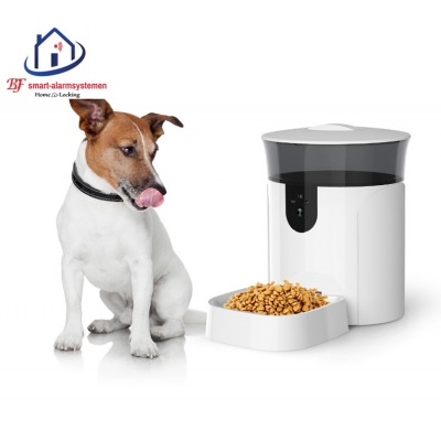 Smart WiFI automatische dieren voeder toestel met camera werkt met Amazon Alexa / Google Assistance.T-2052