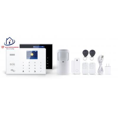 Smart WiFI alarmsysteem set werkt met Amazon Alexa / Google Assistance.T-2084