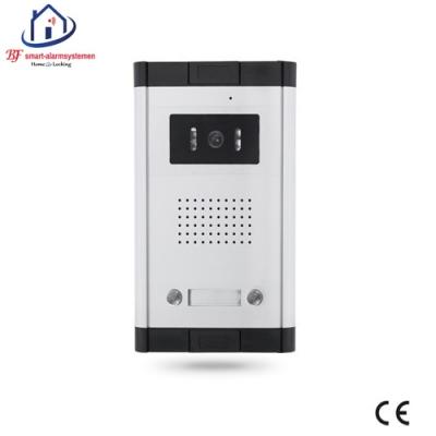 Home-Locking buiten bedieningspaneel voor appartementen drukknoppen langs elkaar inbouw voor deur videofoon 4 draads.DT-1112