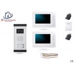 Home-Locking complete deur video videofoon 4 draads met 2 binnen schermen.DT-1476