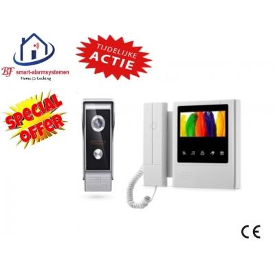 Home-Locking complete deur videofoon 4 draads.DT-2213